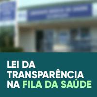 Lei de Transparência da Fila da Saúde