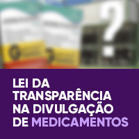 Lei da Transparência na Divulgação de Medicamentos