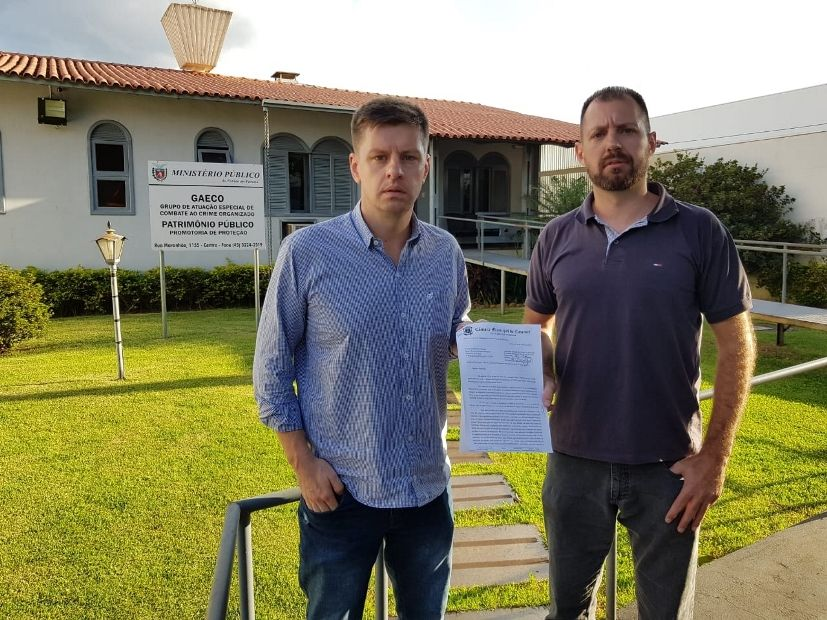 Vereadores pedem que MP investigue denúncia feita por Bocasanta