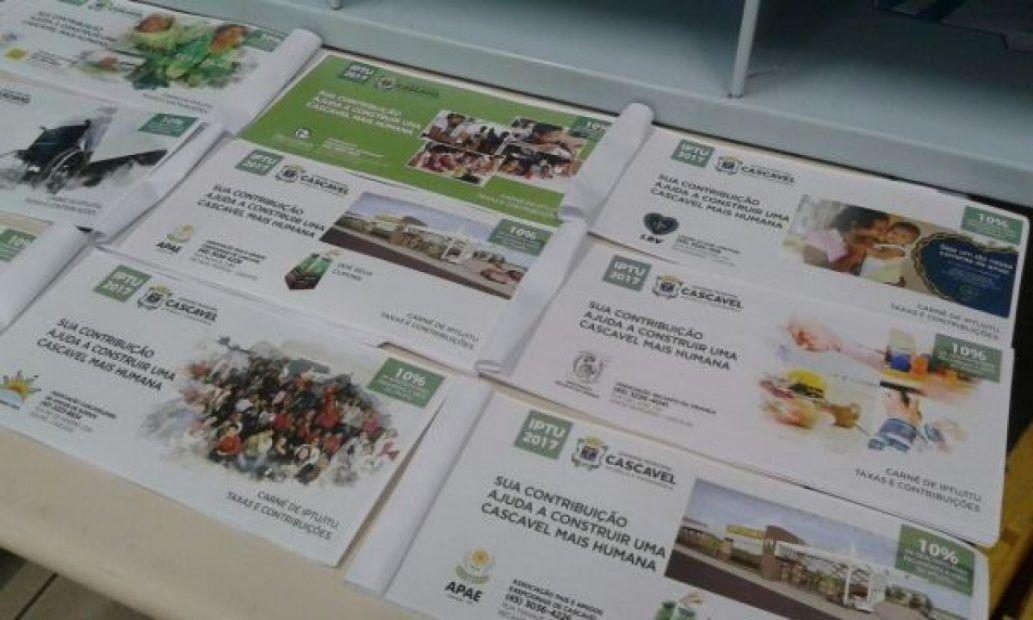 TCE/PR Recomenda Devolução de Taxa de Expediente dos Carnês de IPTU e Lixo