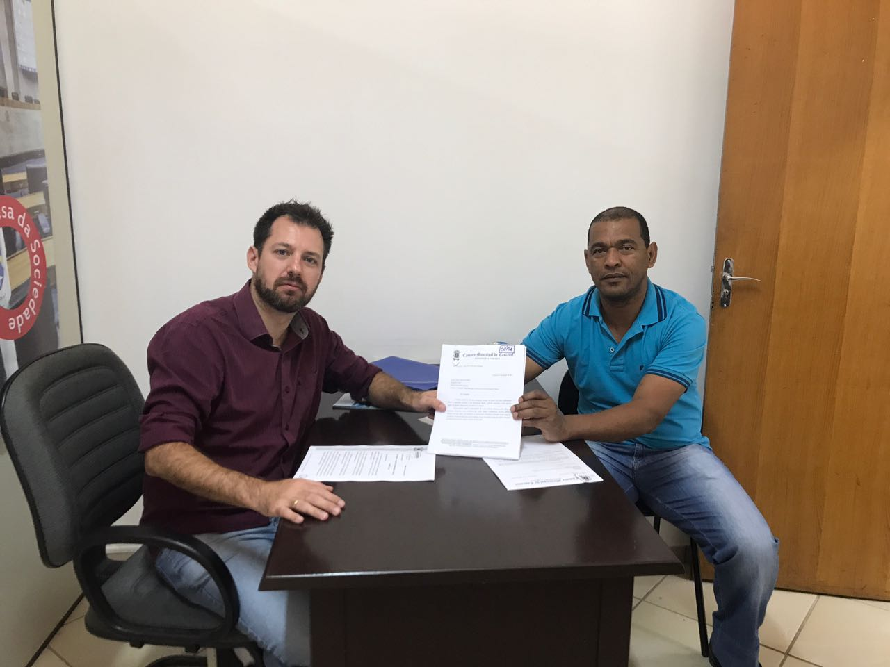 Vereadores denunciam obra do Centro Esportivo Jardim Veneza