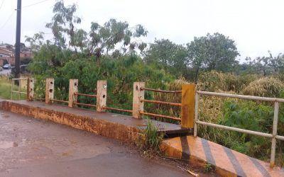 Comissão de Segurança e Trânsito cobra manutenção urgente de ponte na região norte de Cascavel