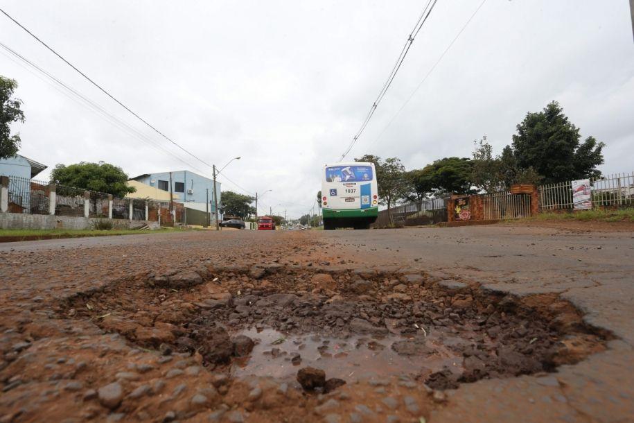 Obras na Tito Muffato mal sinalizadas causam acidente fatal e caso chega ao MP
