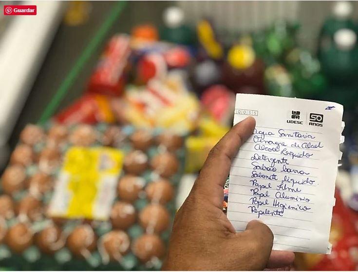 """Faça a lista de compras antes de sair de casa"", orienta nutricionista"
