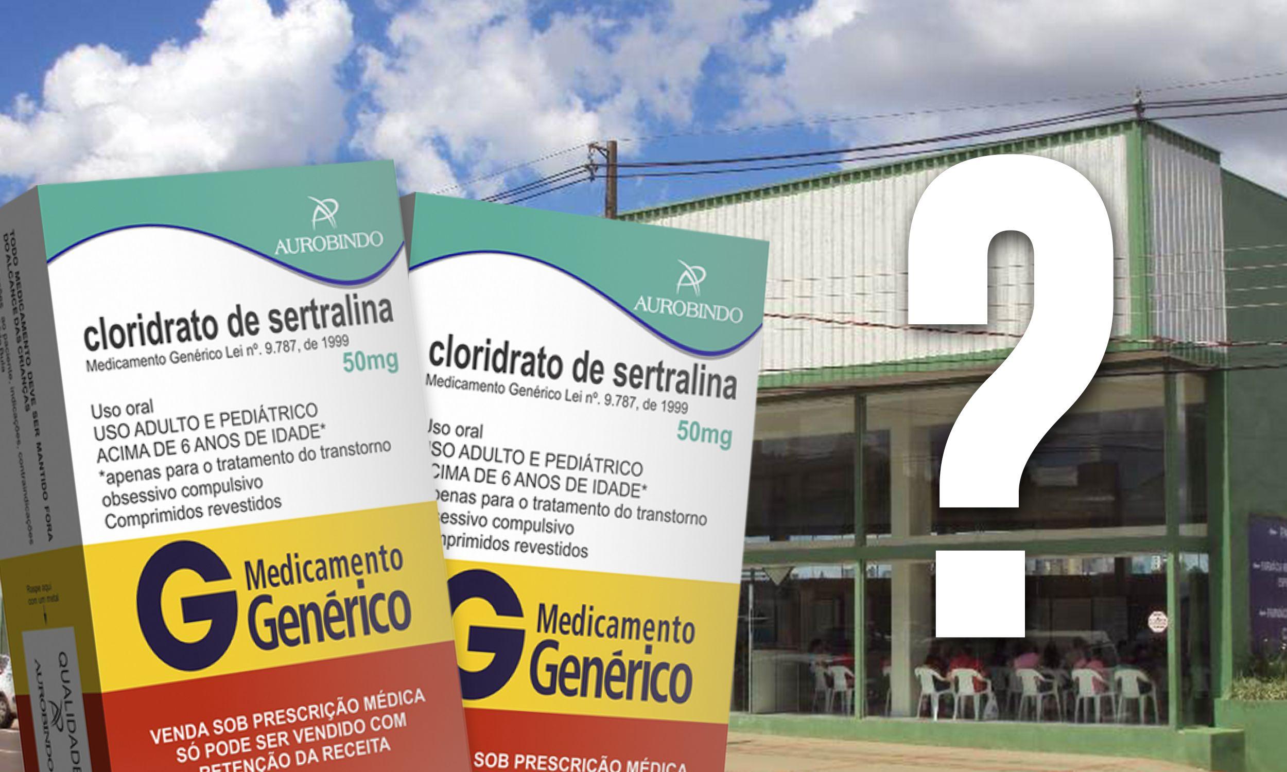 Restabelecido o estoque de SERTRALINA em Cascavel