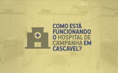 Covid-19: Hospital de Campanha começa a atender pacientes