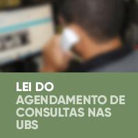 Lei do Agendamento de Consultas nas UBS