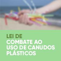 Lei de Combate ao Uso de Canudos Plásticos