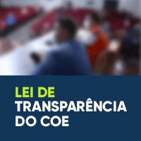 Lei da Transparência do COE