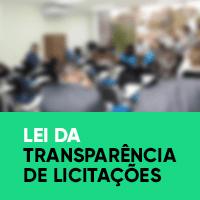 Lei da Transparência de Licitações